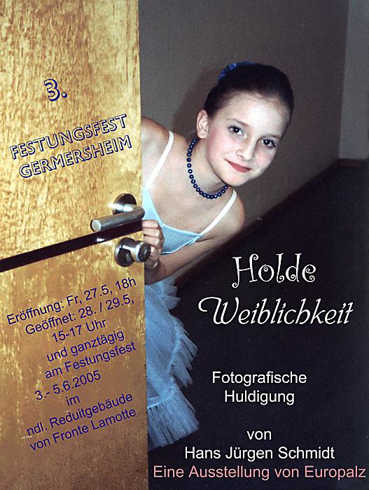 """Eigenes Plakat von 2005 : """"Holde Weiblichkeit"""""""