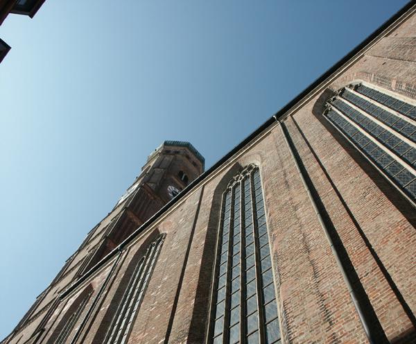 Eigenwillige Perspektive: Frauenkirche