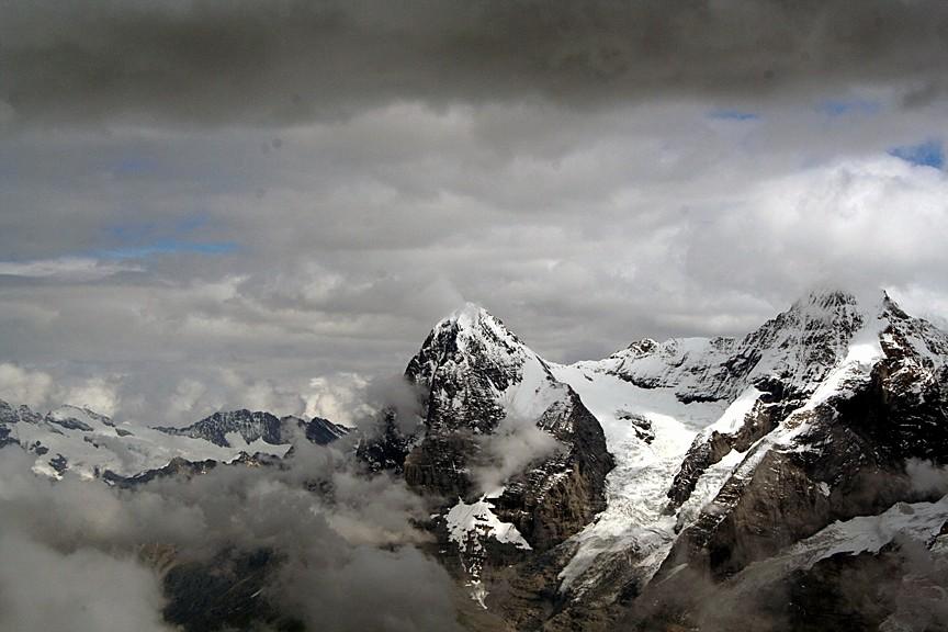 Eiger 3970m - Mönch 4099m