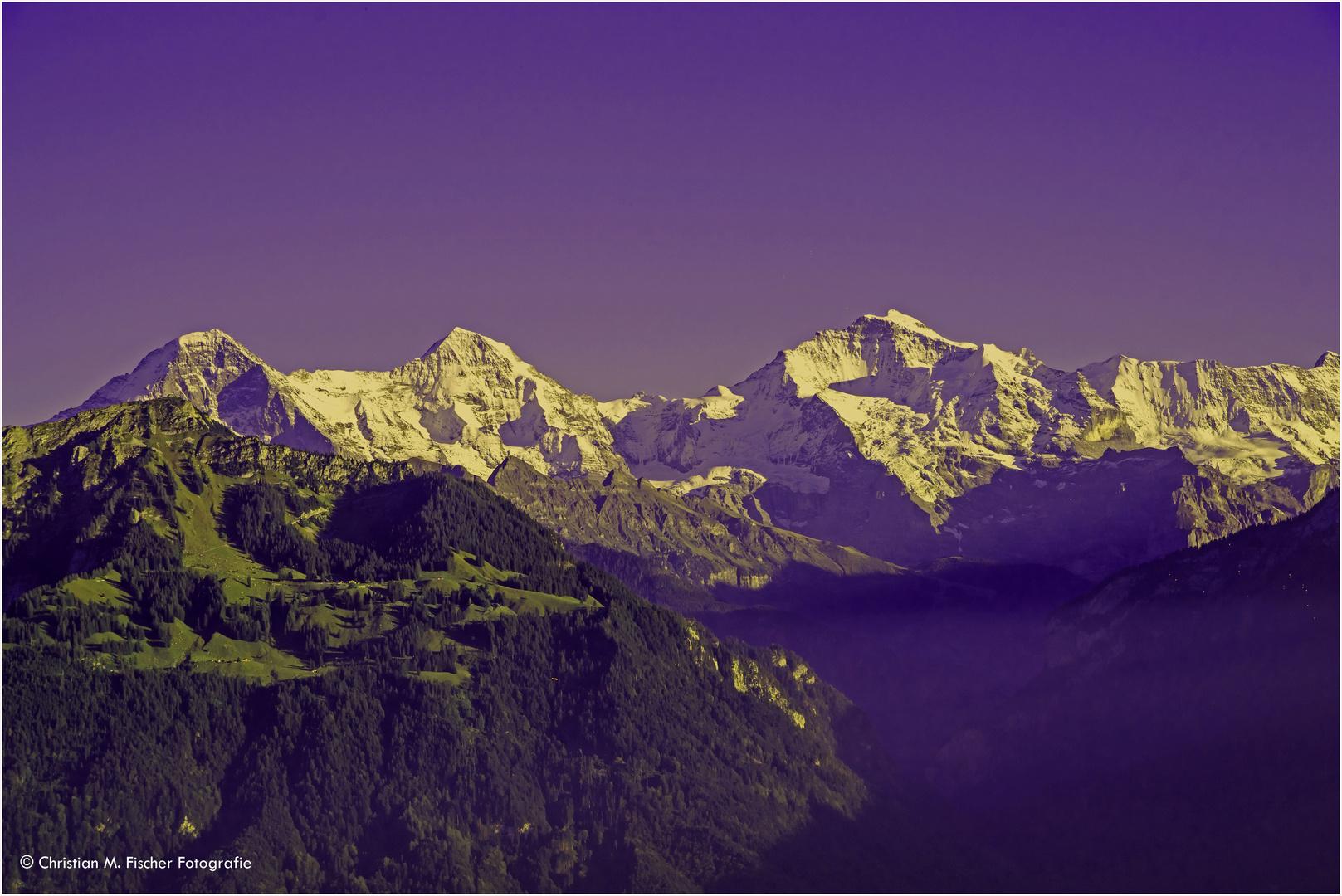 Eiger Mönch & Jungfrau
