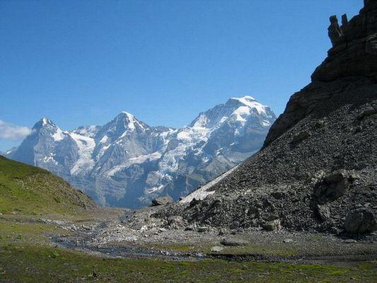 Eiger ,Mönch und Jungfrau