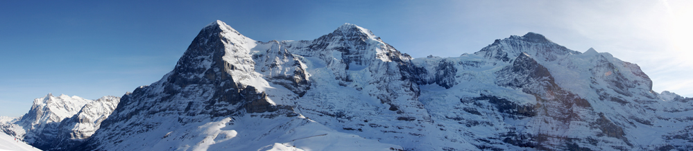 Eiger-Mönch und Jungfrau