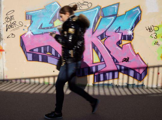 Eile vorm Graffiti