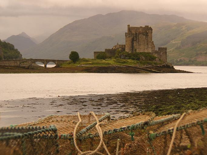 Eilean Donan Castle am 31.07.2007