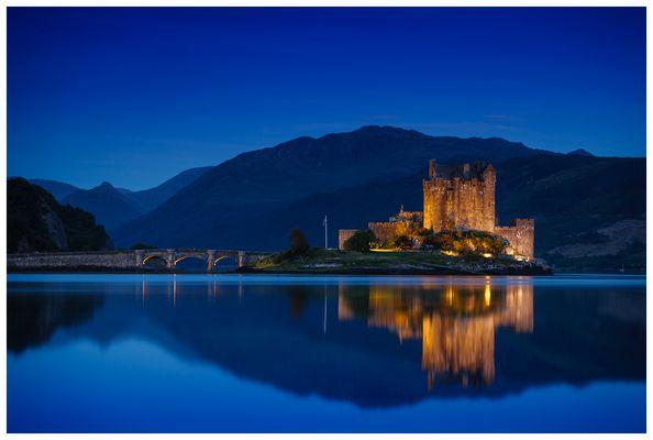 Eilean Donan Castle @Dawn