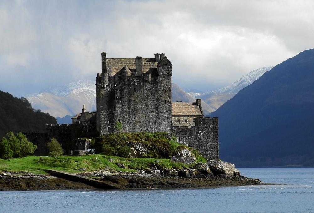 Eilean Donan Castle in groß
