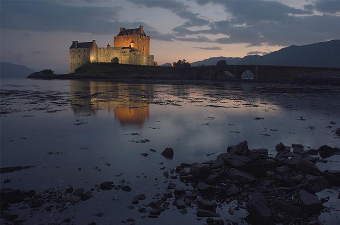 Eilean Donan Castle. Schottland.