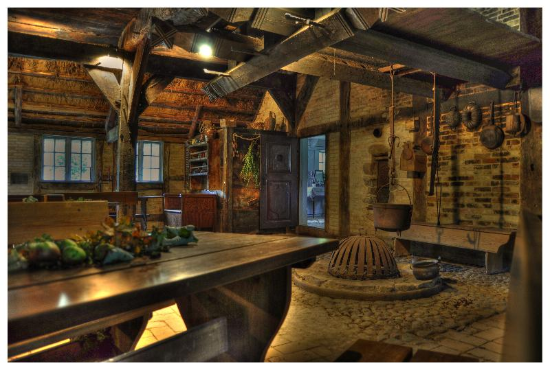 Ein 300 Jahre altes Bauernhaus