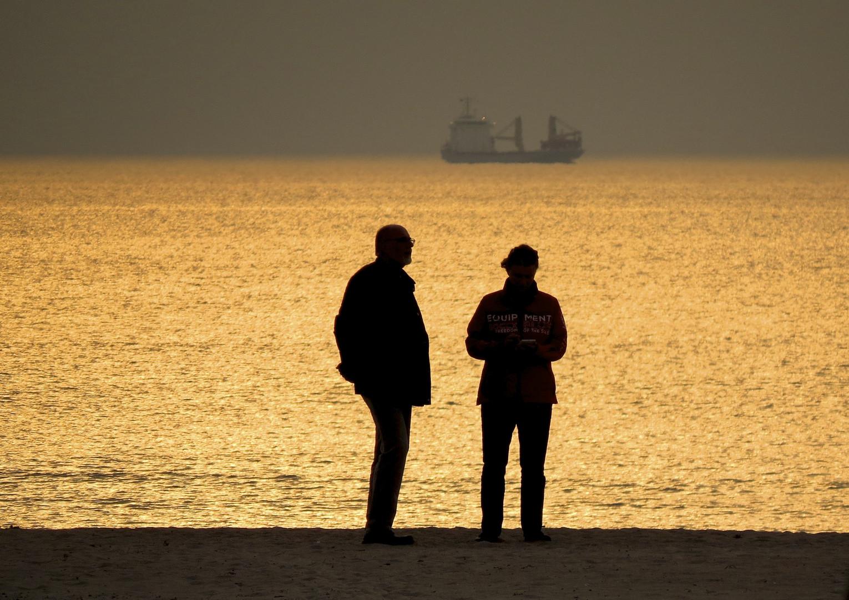 ...ein Abend am Meer...