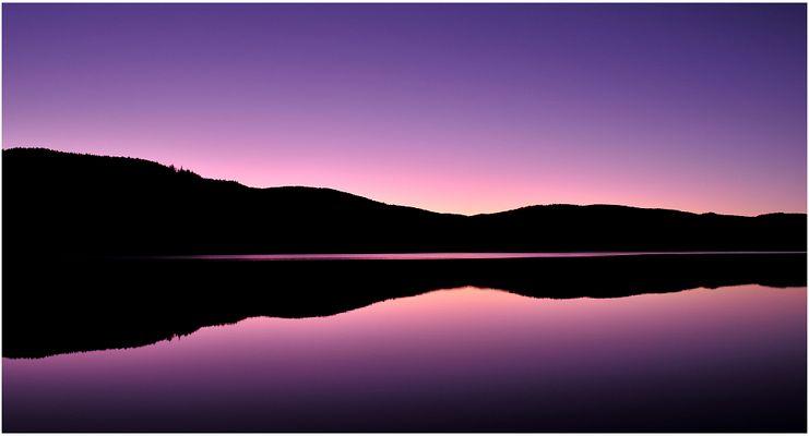 ...ein Abend am Schluchsee