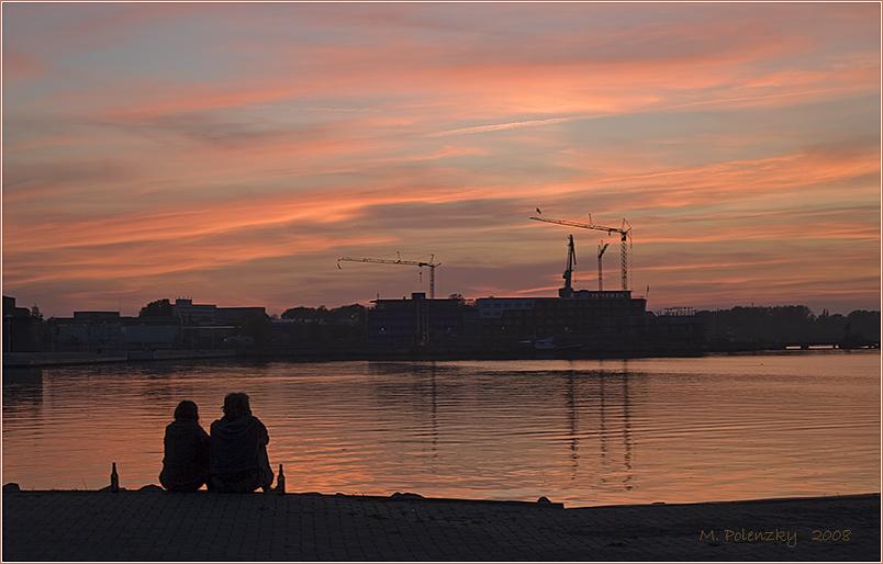 Ein Abend am Stadthafen