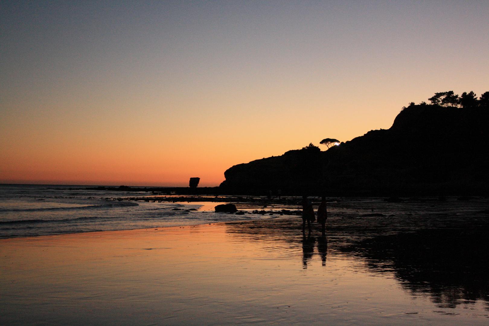 Ein Abend an der Algarve