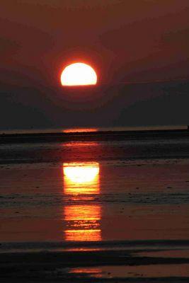 ein Abend an der Nordsee