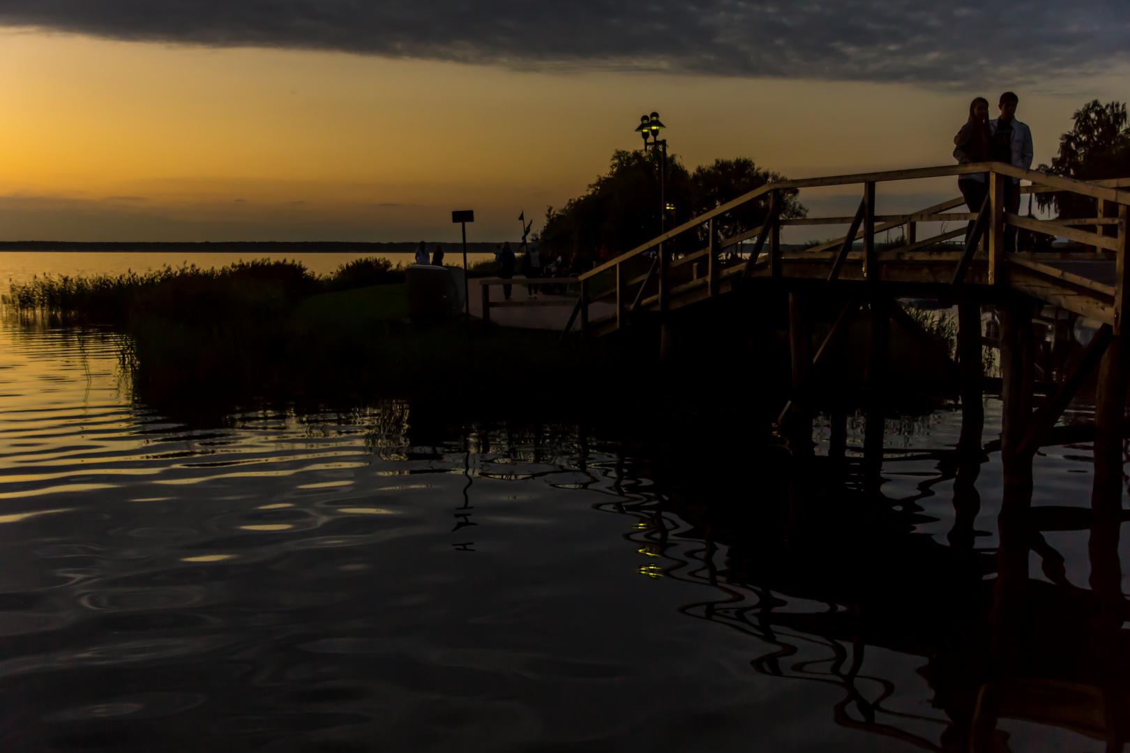 ein Abend für Verliebte - Steinhude am Steinhuder Meer/Nds.