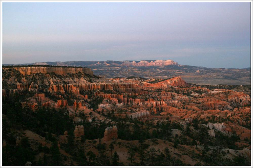Ein Abend im Bryce Canyon