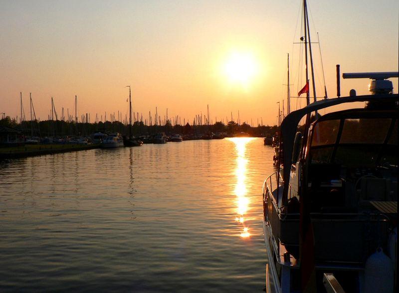 Ein Abend im Hafen