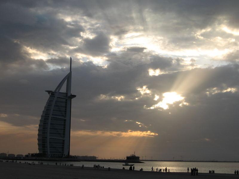 Ein Abend in Dubai