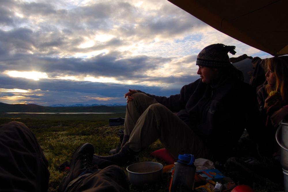 Ein Abend in Hardangervidda