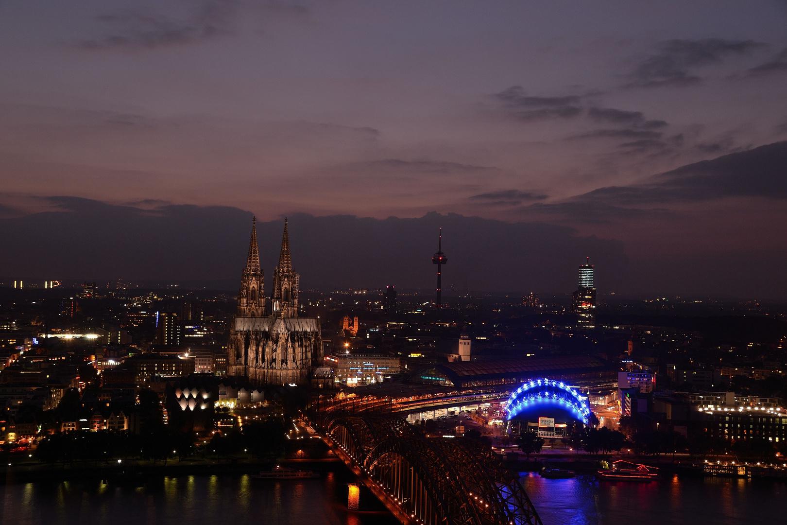 EIn Abend in Köln...