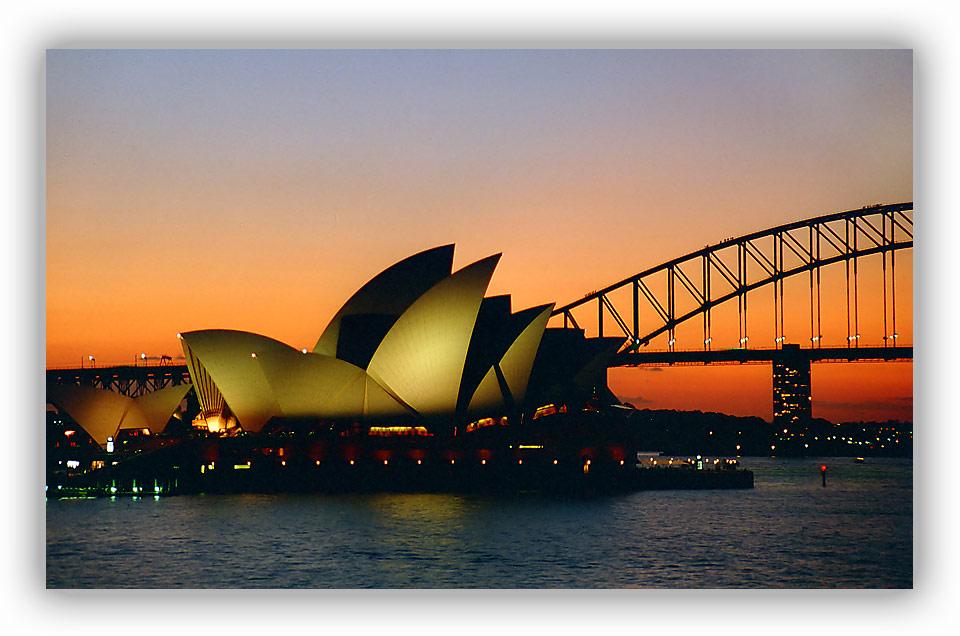 Ein Abend in Sydney