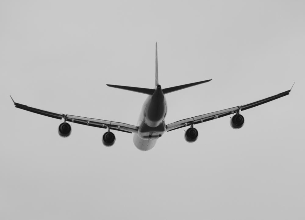 Ein Airbus A340-600 der South African Airways kurz nach dem Start
