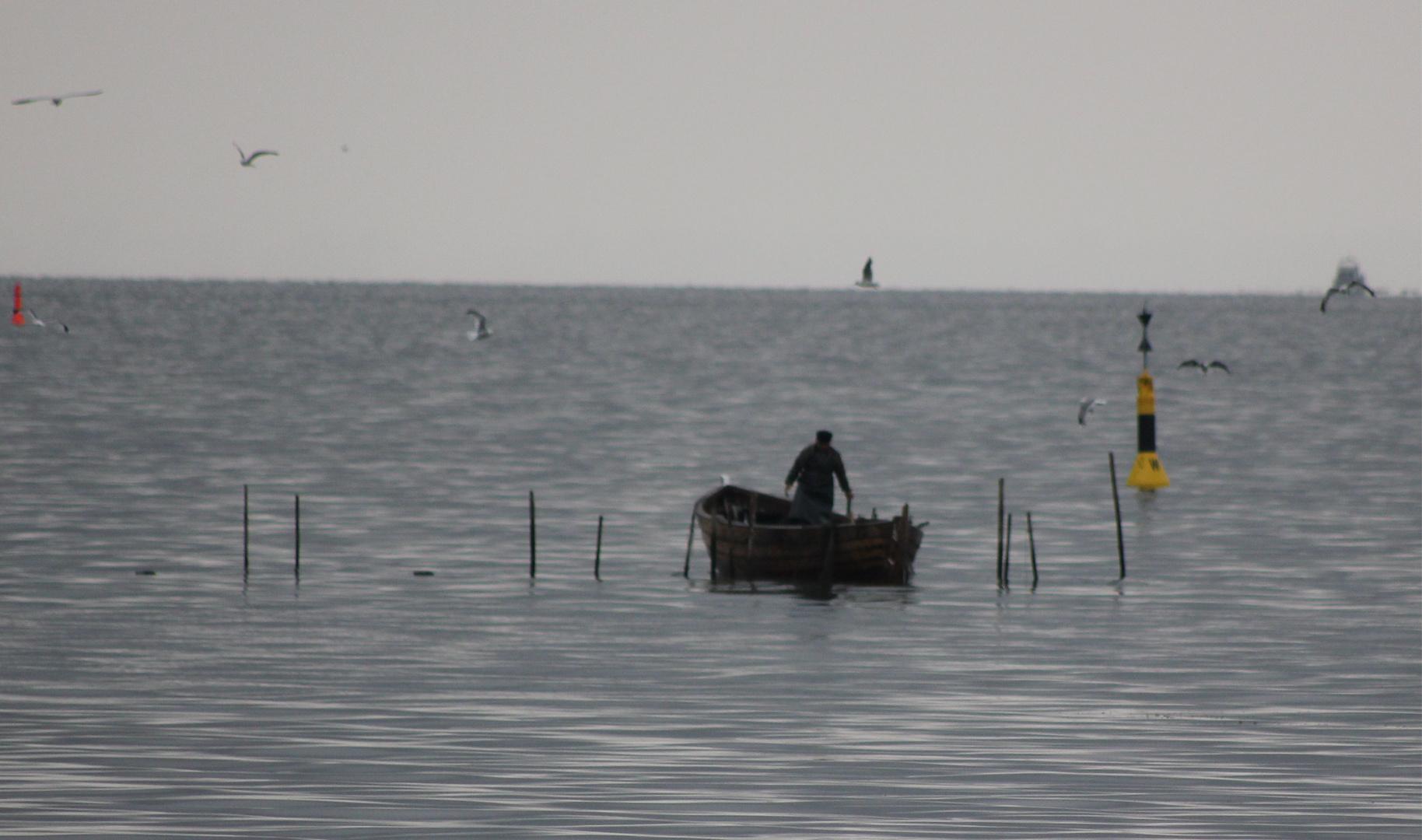 Ein alter Fischer