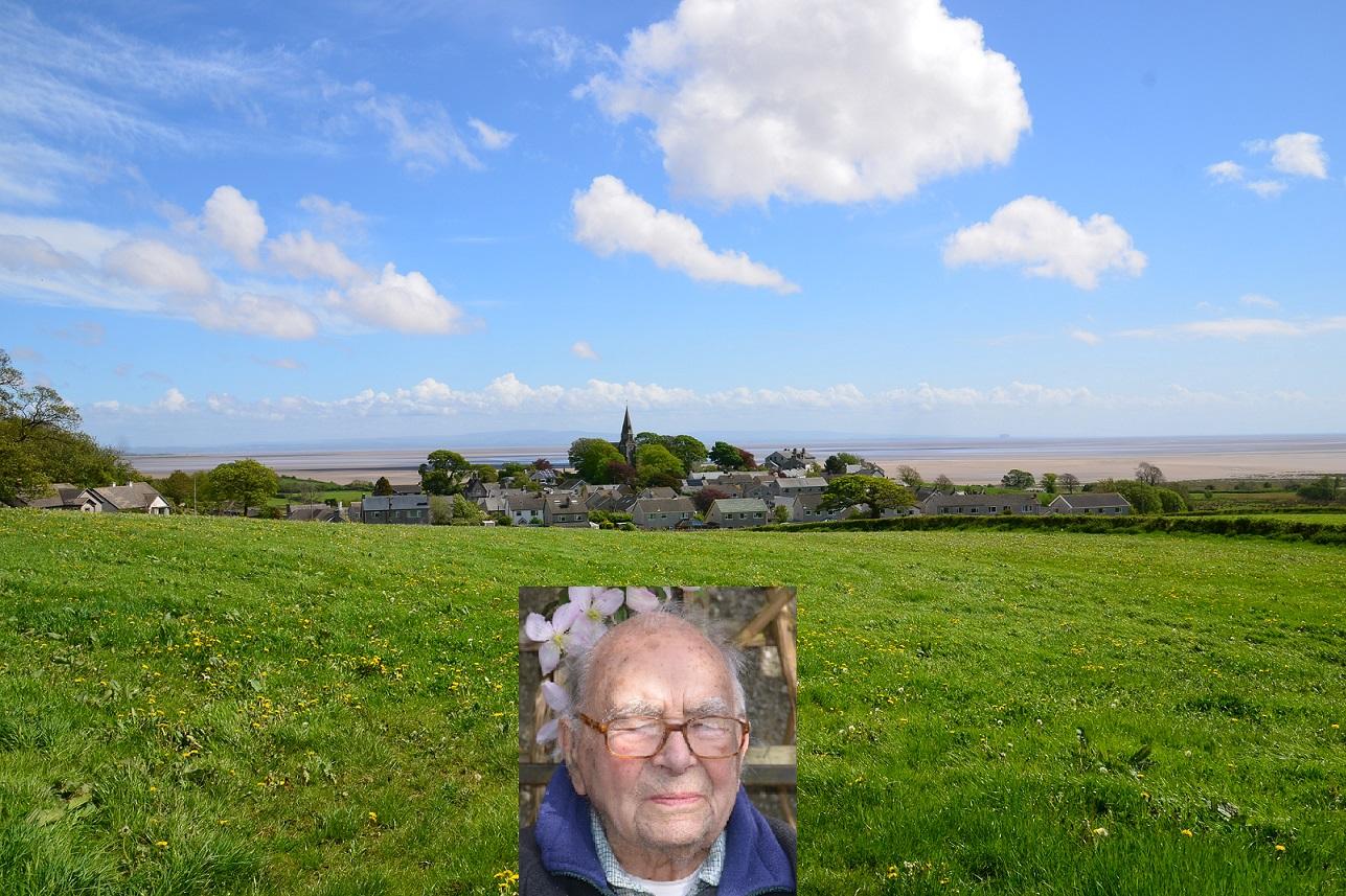 Ein alter Mann in Bardsea