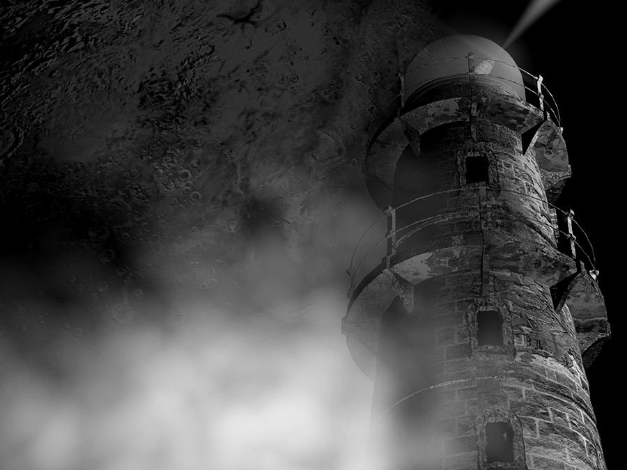 Ein alter Turm!