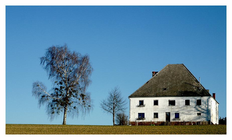 Ein altes Bauernhaus....