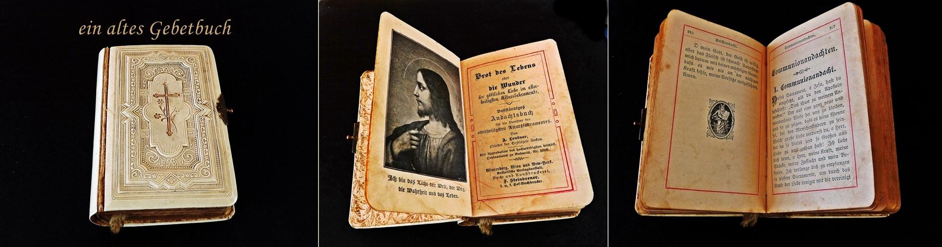 ein altes Gebetbuch