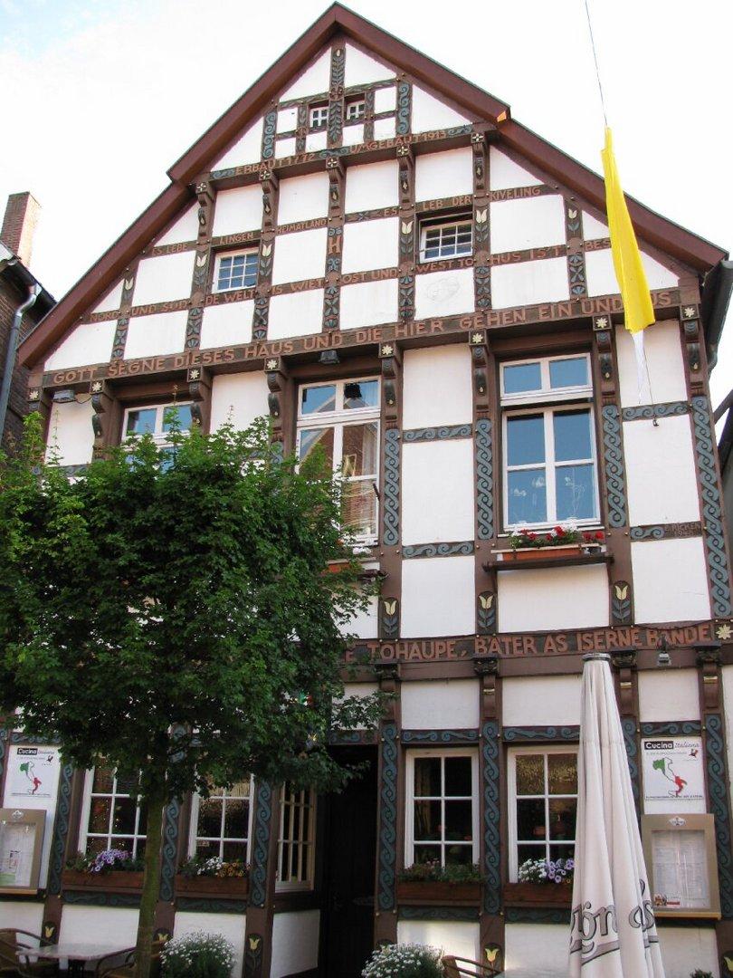Ein altes Haus in LINGEN