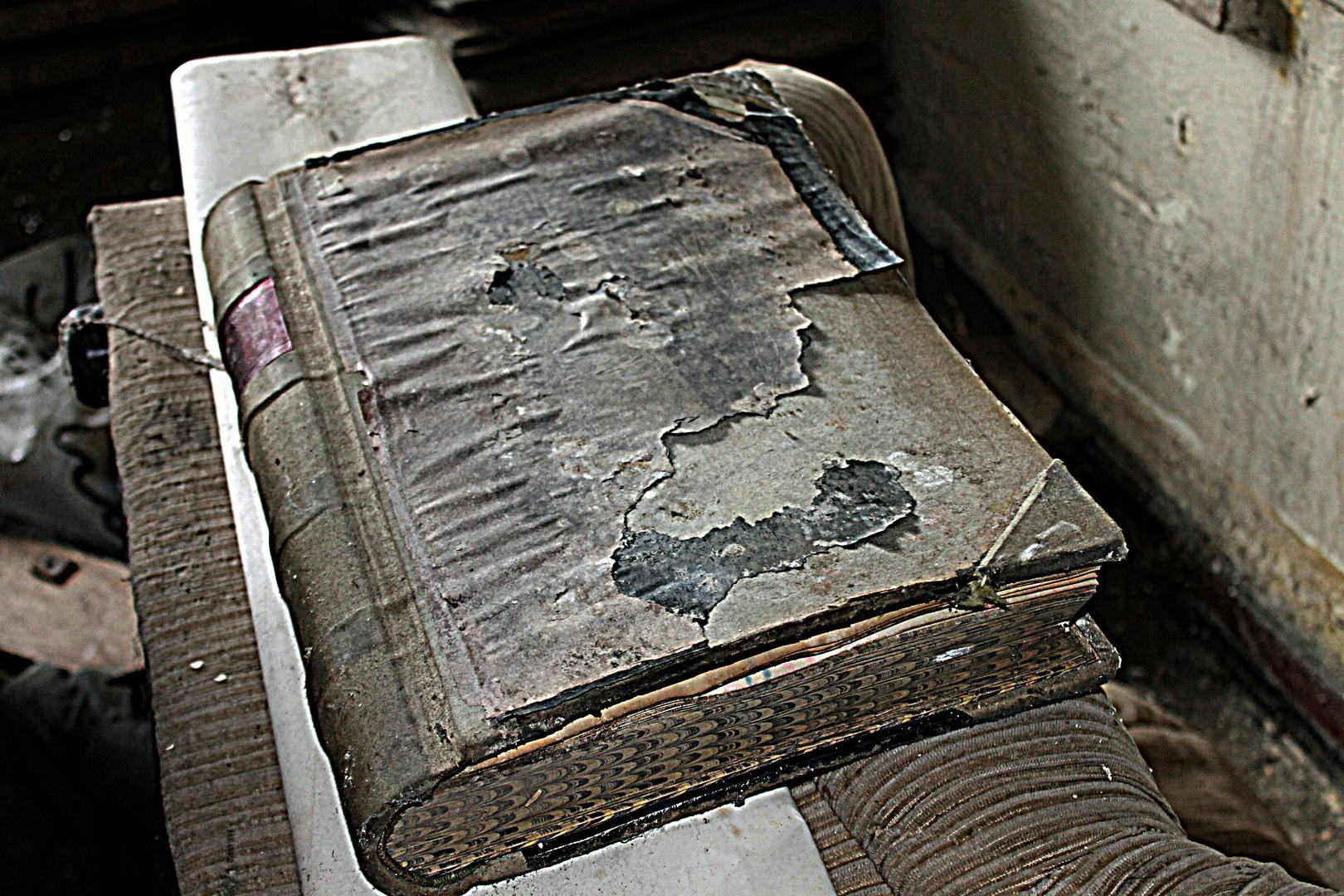 Ein altes Wirtschaftsbuch.......