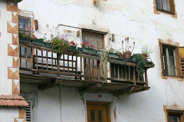 Ein anderer Balkon in Schluderns