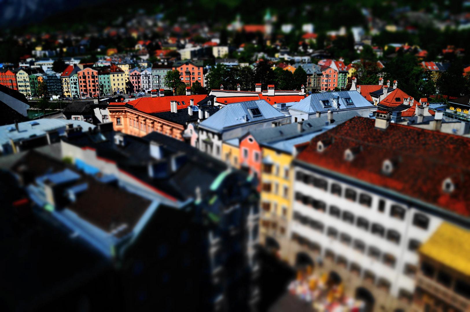 ein anderer Blickwinkel in Innsbruck