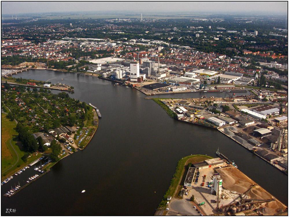 Ein Anflug von Bremen