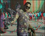 ein Arm voll Tauben (3D)