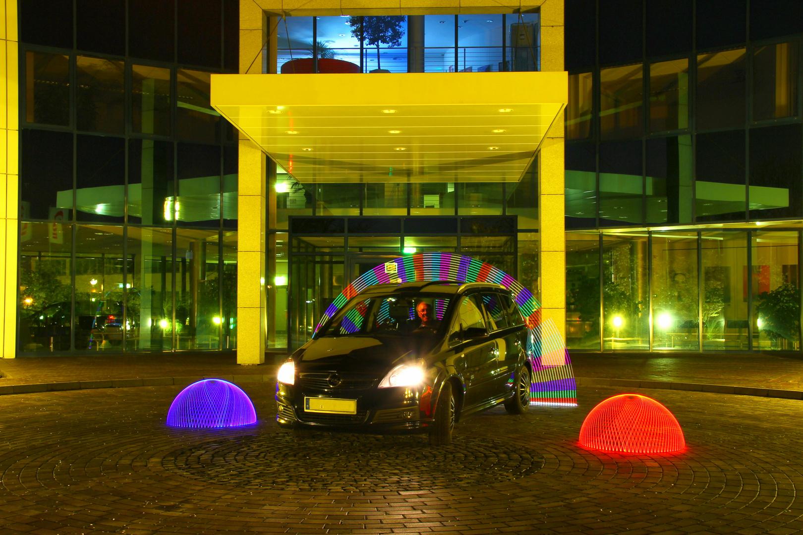 Ein Auto im besonderem Licht