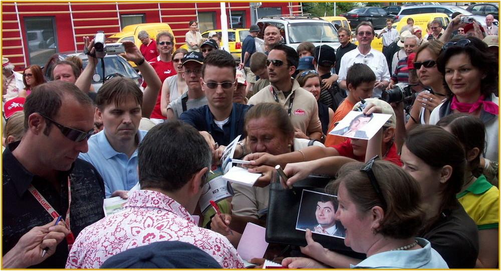 Ein Autogramm bitte , Mr.Bean