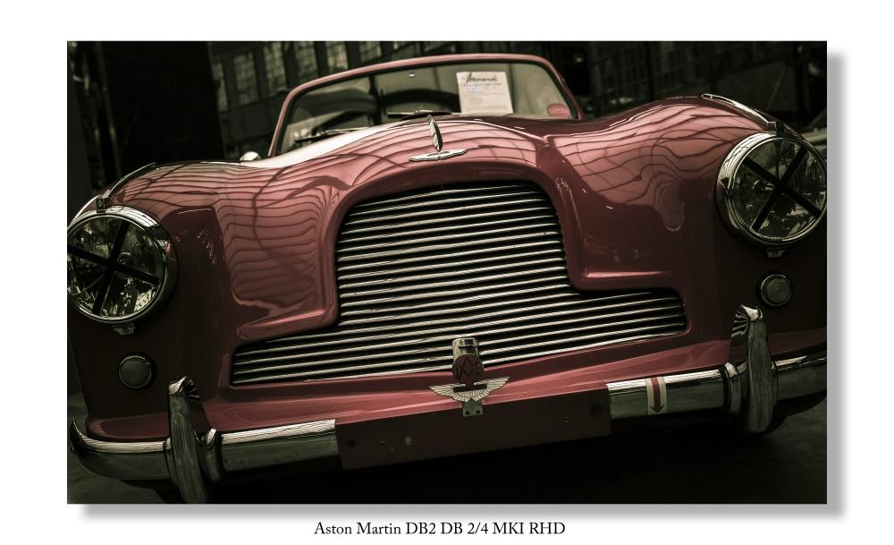 Ein automobiler Traum... Aston Martin DB2 DB 2/4 MKI RHD