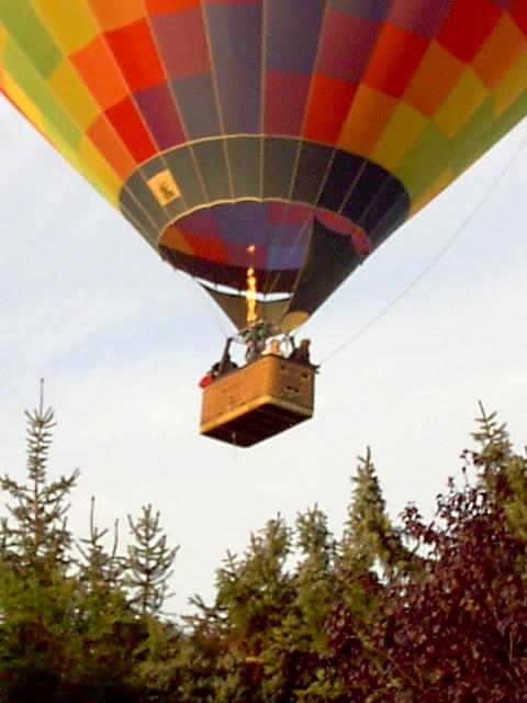 ein Ballonflug