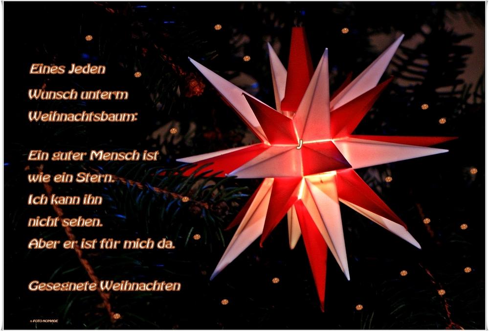 Ein beschauliches Weihnachtsfest in Liebe und Vertrauen
