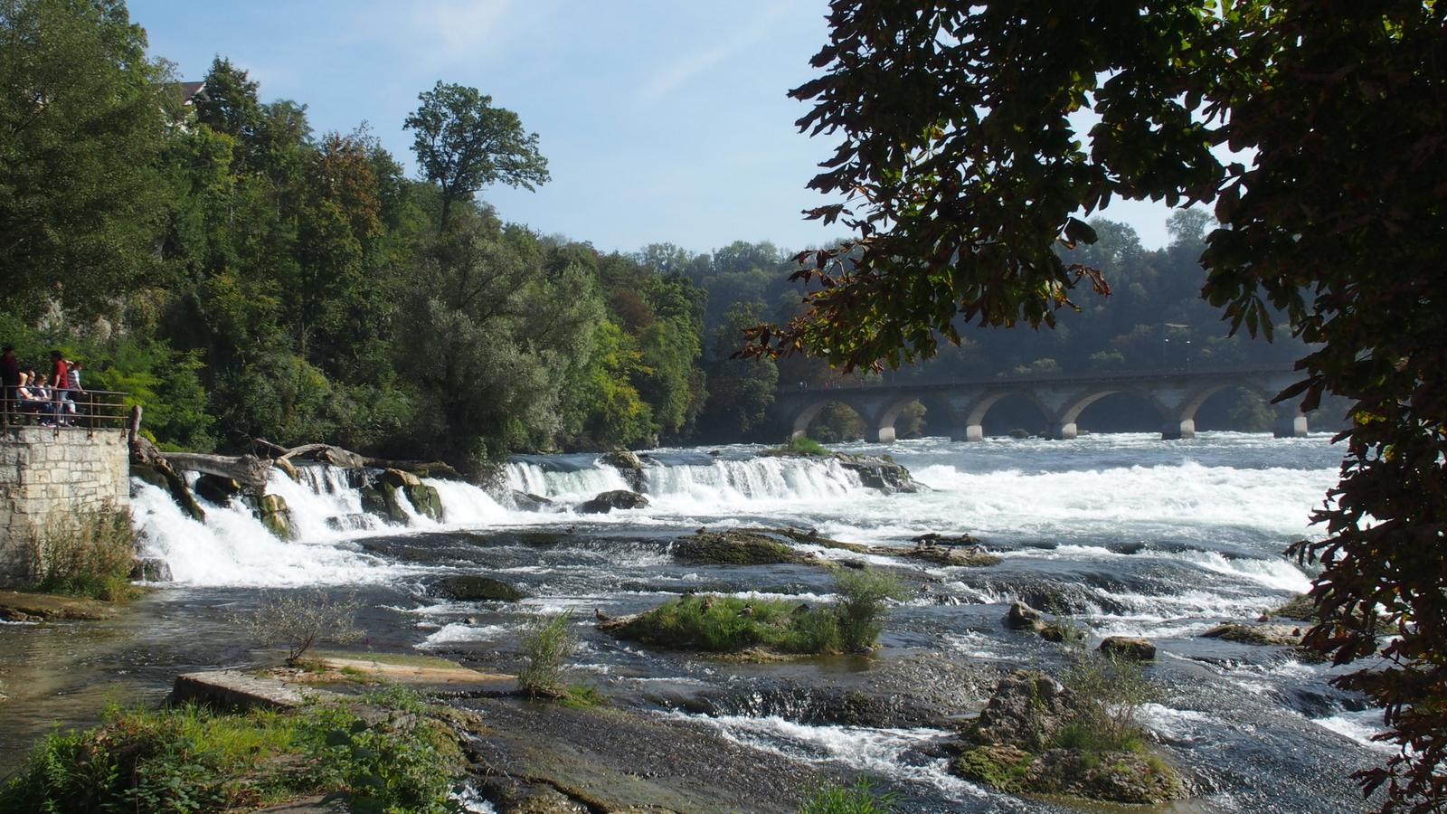 Ein besonderes Schauspiel der Rheinfall