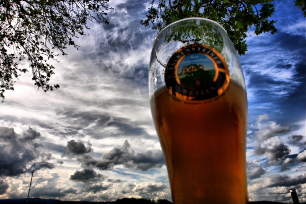Ein Bierchen am Abend ...