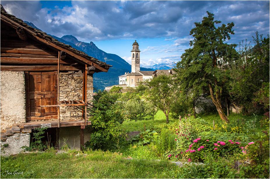 Ein Bild aus den Alpen
