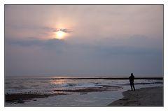 Ein Bild von einem Sonnenuntergang...