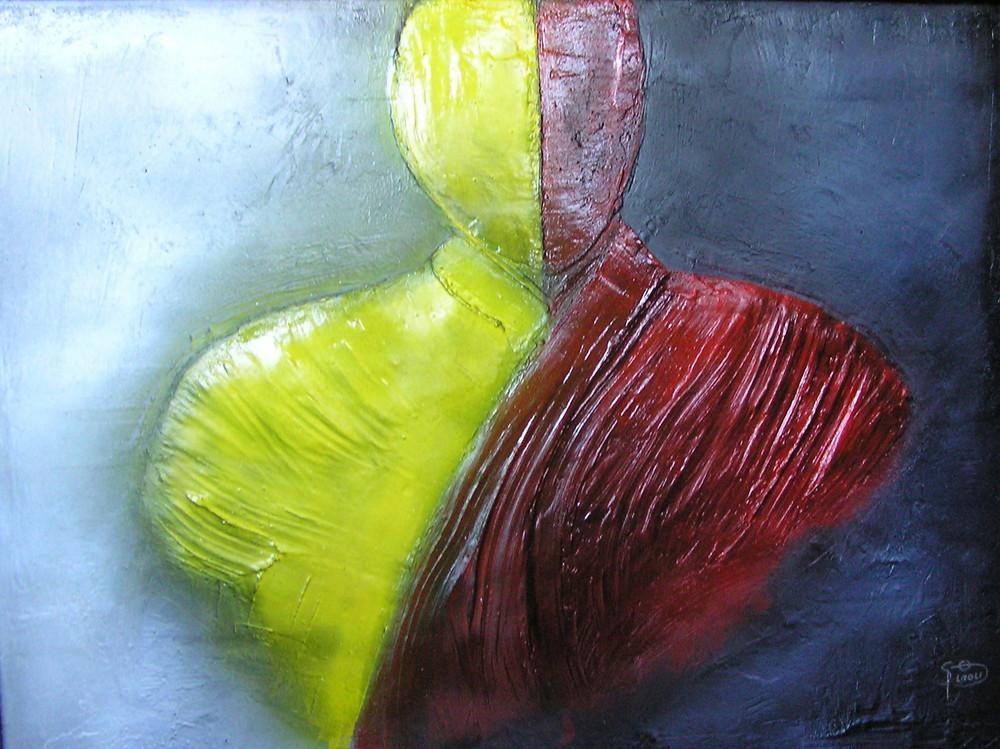 """Ein Bild von mir """"Zwei Seien"""" Ausstellung Okt. 07  Burghausen"""