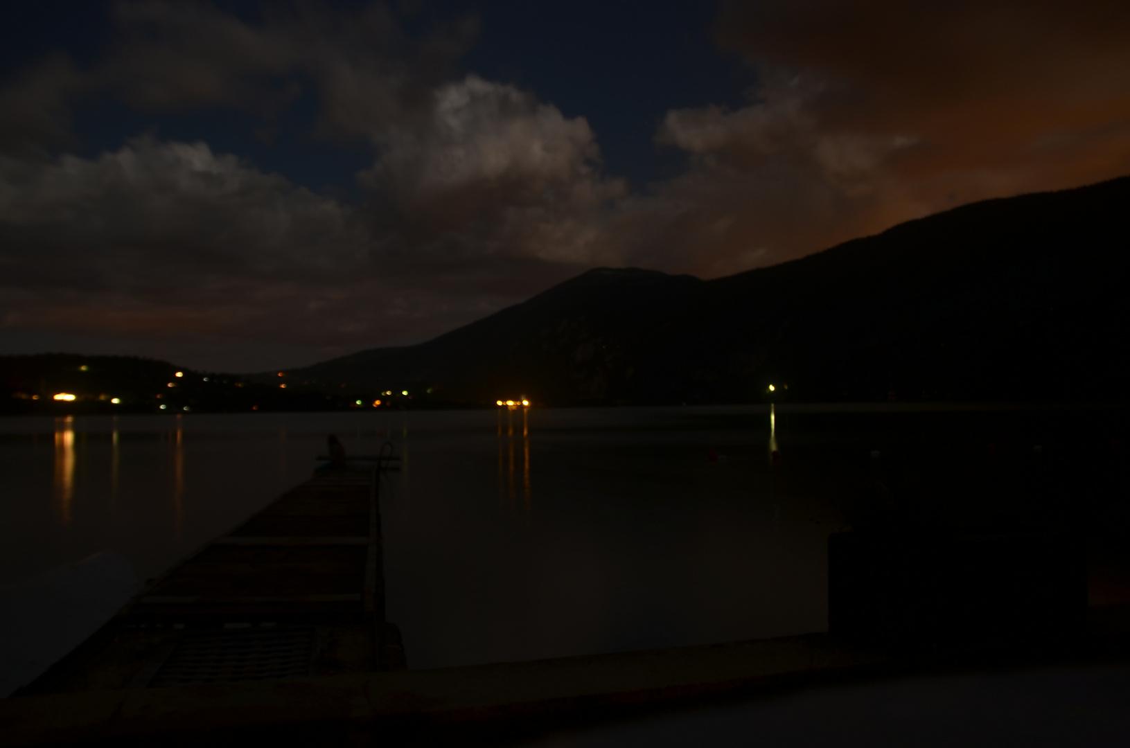 ein bisschen nach dem Sonnenuntergang