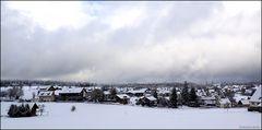 Ein bisschen Schnee haben wir schon...