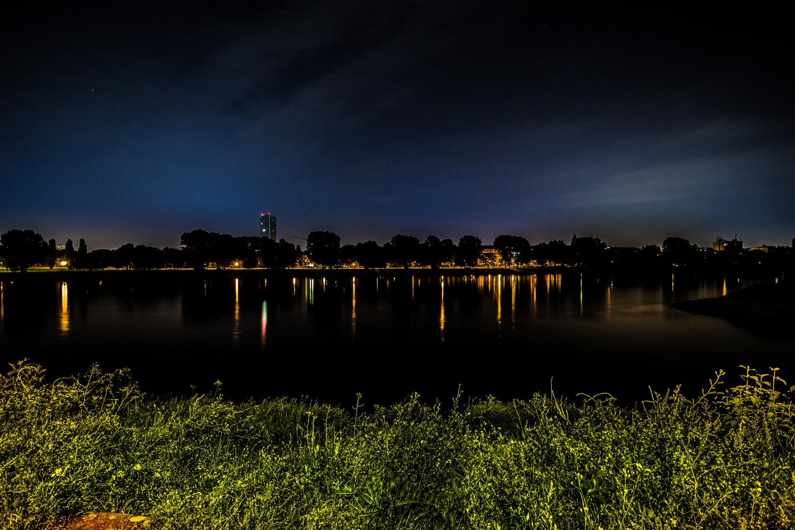 Ein Blick auf den Rhein