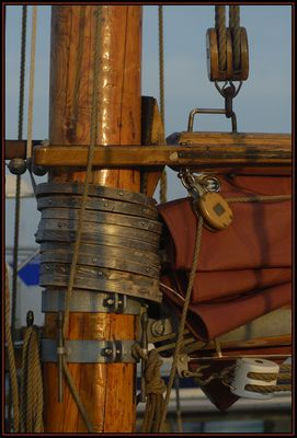 ein Blick fürs Detail beim Segelschiff - 1